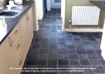 kitchen vinyl tiles stoke
